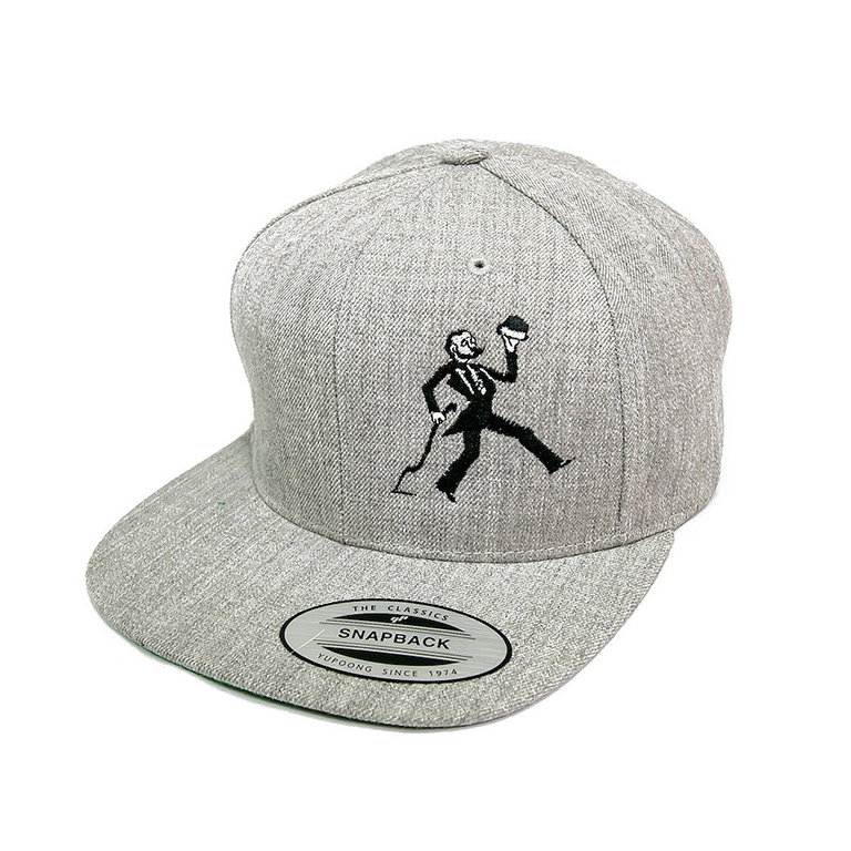c3783dc1b78503 Classic Snapback Flat Bill Hat - Crooked Can Brewery - Orlando | Winter  Garden